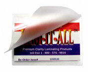 10 Mil Driver's Licence Laminating Pouches Hot 2-3/8 x 3.4ly 100 LAM-IT-ALL