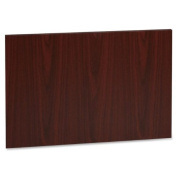 Lorell LLR63505 Accent Series Mahogany Laminate Modesty Panel