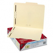 Folder, Two Fasteners, 2/5 Cut Right Centre, Top Tab, Letter, Manila, 50/Box