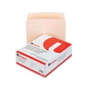 Universal File Folders, Straight Cut, Two-Ply Top Tab, Letter, Manila, 100/Box
