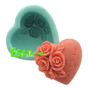 Silicone Candle Mould DIY 3D Flower Mould S0227