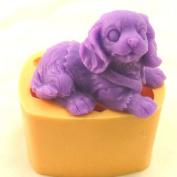 3D Cockier Spaniel Silicone Soap Mould