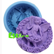 Silicone Candle Mould DIY 3D Angel Mould S0559