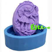 Silicone Candle Mould DIY 3D Angel Mould S0561