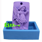 Silicone Candle Mould DIY 3D Angel Mould S0568