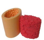Love of Rose Candle Mould Silicone Soap Mould