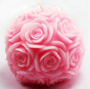 Ball of Rose Candle Mould Silicone Soap Mould Candle Mould DIY Candle Making Mould