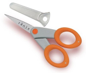 Scissors With Fine Point And Super Sharp Blades Are Solid Steel throughout
