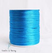 Turquoise 2mm x 100 yards Rattail Satin Nylon Trim Cord Chinese Knot
