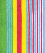 Entertaining with Caspari Green and Blue Multi Stripe Wired Ribbon, 8-Yard