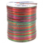 Morex Ribbon Pearl Raffia Fabric Ribbon Spool, 55-Yard, Holiday