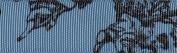 Venus Ribbon V15665-0D1 2.2cm Toile Grosgrain Ribbon, 5-Yard, Antique Blue/Black