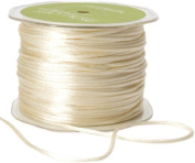 May Arts Ribbon, Ivory Satin String
