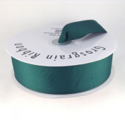 3.8cm Hunter Green Grosgrain Ribbon 50 Yards Spool Solid Colour.