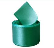 Papilion R07430538034650YD 3.8cm . Single-Face Satin Ribbon 50 Yards - Jade