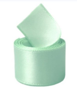Papilion R07430538051350YD 3.8cm . Single-Face Satin Ribbon 50 Yards - Pastel Green