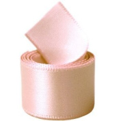 Papilion R07430538071450YD 3.8cm . Single-Face Satin Ribbon 50 Yards - Petal Peach