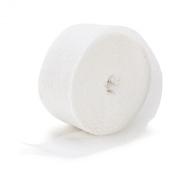 Bright White (White) Crepe Paper White