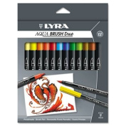 Dual Tip Marker, Assorted, 12 per Pack