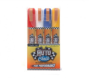 Chalk Ink 6mm Auto Chalk Artista Pro Markers, 4-Pack