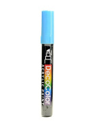 Marvy Uchida Decocolor Acrylic Paint Markers aquamarine [PACK OF 6 ]