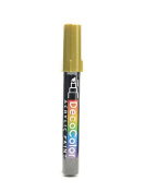 Marvy Uchida Decocolor Acrylic Paint Markers gold [PACK OF 6 ]