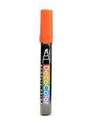 Marvy Uchida Decocolor Acrylic Paint Markers orange [PACK OF 6 ]