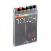ShinHan Touch Twin Marker Set 6M Basic