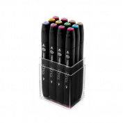 ShinHan Touch Twin Marker Set 12 Pastel