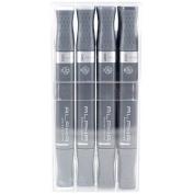 Alpha EF 12 Cool Grey Grafikmarker 12er Set Box Design Marker