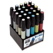 Chartpak Admarker Set L 25 Landscape Colours