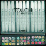 ShinHan Touch Twin Brush Marker Set 36