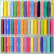 48 Soft Drawing Pastels in Brilliant Assorted Colours