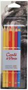 Conté à Paris Pastel Pencils with 6 Count Portrait Colours