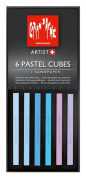 Caran D'ache Pastel Cube Set/6 Morning Dew