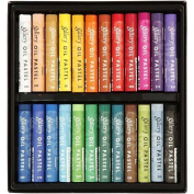 Mungyo Gallery Soft Oil Pastels Set of 24 - Assorted Colours