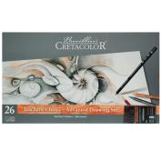 27 Pc Savoir-Faire Teacher's Choice Advanced Drawing Set