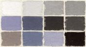 Diane Townsend Terrages Soft Pastels- Set of 12 Grey Tones
