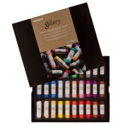 Mungyo Gallery Handmade Soft Pastel Set of 30 - Assorted Colours