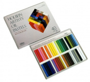 Holbein Artist Oil Pastel Set of 40 Colours in Cardboard Box
