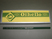 Othello Drawing Pencils, Swan Pencil Company, Hexagonal Wood, 4H, #982, Made in USA