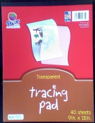9x12 Pad of Tracing Paper - 40 Sheets