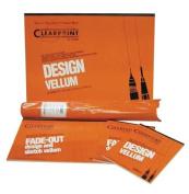 Clearprint 1000H Series 17 x 22 Unprinted Vellum, 10-Sheet Pack