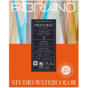 Fabriano Studio Watercolour Pad 9X12 HP 300G
