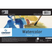 Canson Montval Watercolour Cold Press - 15 Sheet Block 15cm x 23cm