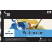 Montval 140LB Watercolour Pad Wired 10X15