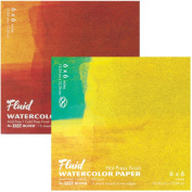 Fluid Watercolour Hot Press Block 6X6