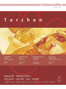 Hahnemuhle Torchon 275gsm Watercolour Board 17x24cm Block, 20 Sheets