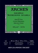 Arches Watercolour Pad Cold Press 10X14