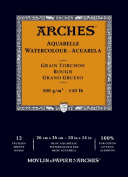 Arches Watercolour Pad Rough 10X14